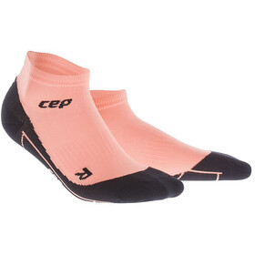 cep Compression Low Cut Löparstrumpor Dam pink/svart